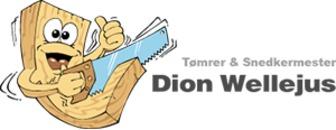 Tømrermester Dion Wellejus logo