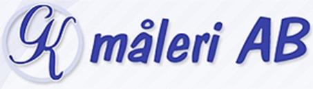 GK Måleri AB logo