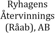 Ryhagens Återvinnings (Råab), AB logo