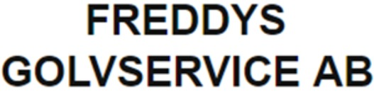Freddys Golvservice AB logo
