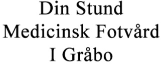 Din Stund, Medicinsk Fotvård I Gråbo logo
