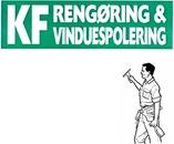 K.F. Rengøring & Vinduespolering logo