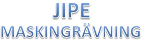 Jipe Maskingrävning logo