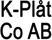 K-Plåt Co AB logo