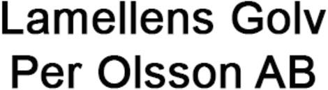 Lamellens Golv Per Olsson AB logo