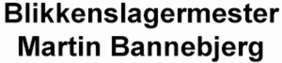 Blikkenslagermester Martin Bannebjerg logo