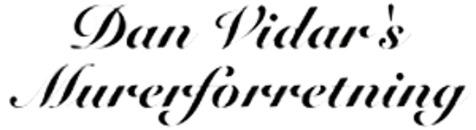 Dan Vidar's Murerforretning logo