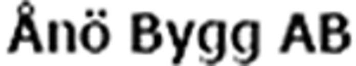 Ånö Bygg AB logo