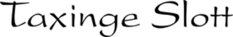 Taxinge Slottscafé logo