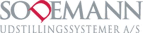 Sodemann Udstillingssystemer A/S logo