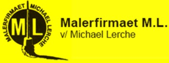 Malerfirmaet M.L. logo