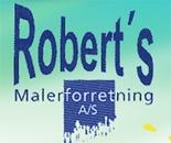 Robert's Malerforretning A/S logo