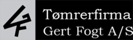 Tømrerfirmaet Gert Fogt A/S logo
