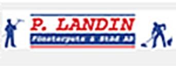 P. Landin Fönsterputs & Städ AB logo