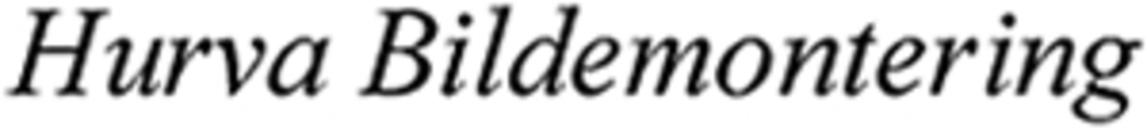 Hurva Bildemontering, AB logo