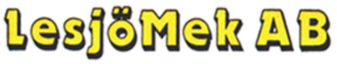 Nya LesjöMek AB logo