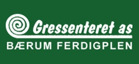 Bærum Ferdigplen Gressenteret AS logo