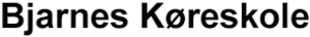 Bjarnes Køreskole logo