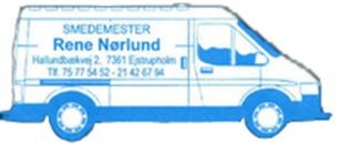 Smedemester René Nørlund logo