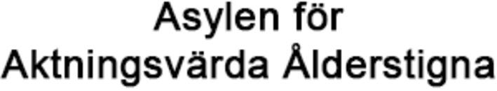 Asylen för Aktningsvärda Ålderstigna logo