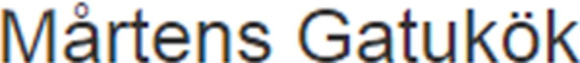 Mårtens Gatukök logo
