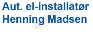 Vester Aaby Inst.forretning/V Henning Madsen logo