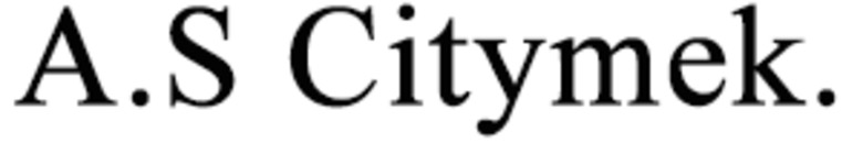 A.S Citymek. logo