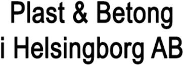 Plast & Betong i Helsingborg AB logo