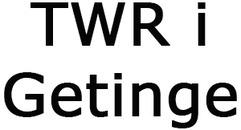 TWR i Getinge logo