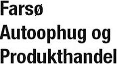 Farsø Autoophug og Produkthandel ApS logo