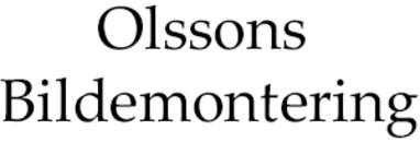 Olssons Bildemontering logo