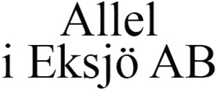 Allel i Eksjö AB logo