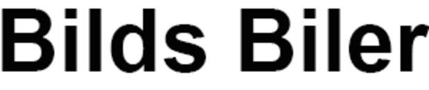 Bilds Biler logo