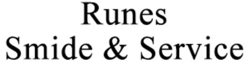 Runes Smide & Service AB logo