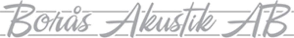 Borås Akustik AB logo