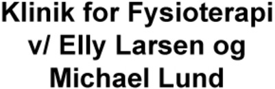 Klinik for Fysioterapi v/ Elly Larsen og Michael Lund logo
