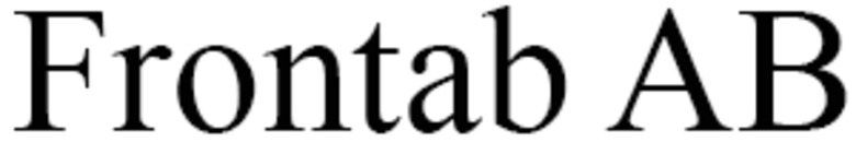 Frontab AB logo