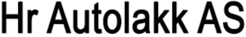 Hr Autolakk AS logo