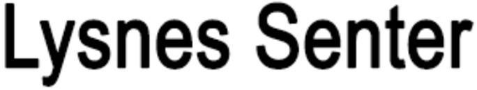Lysnes Senter logo