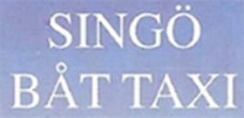 Singö Båt Taxi logo