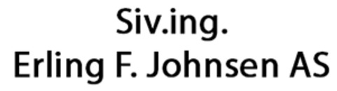 Siv. ing. Erling F. Johnsen AS logo