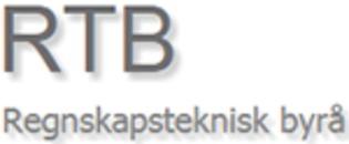 Regnskapsteknisk Byrå Rtb AS logo