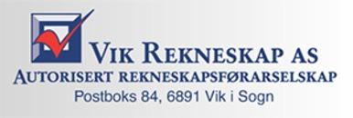 Vik Rekneskap AS logo