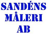 Sandéns Måleri AB logo