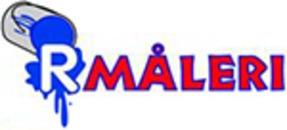 R Måleri logo