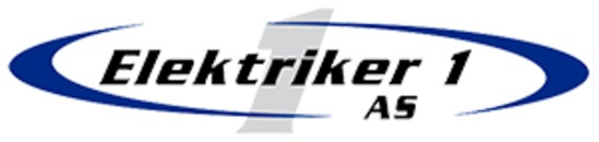 Elektriker 1 Trondheim AS logo