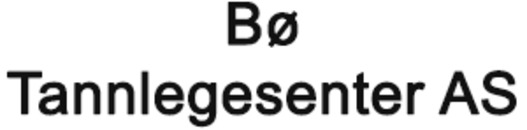 Bø Tannlegesenter AS logo