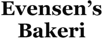 Evensen's Bakeri logo