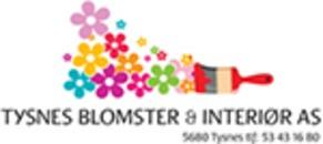 Tysnes Blomster & Interiør AS logo