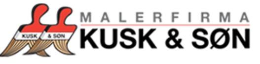 Malerfirma Kusk & Søn A/S logo
